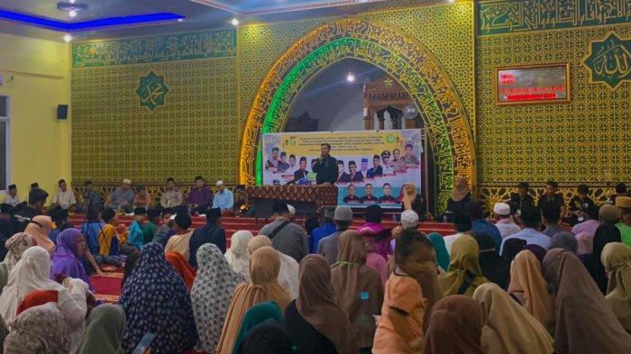 Kemeriahan Nuzulul Quran di Masjid Raudhatul Jannah Kecamatan Tambang Berlangsung Meriah