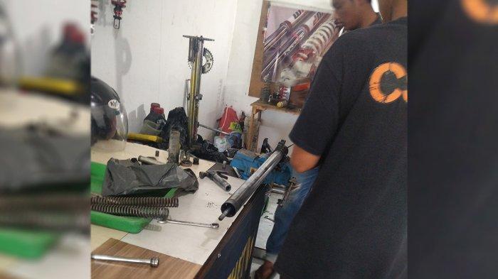 Perawatan Shocbreaker di Owner Clinic Suspension Pekanbaru