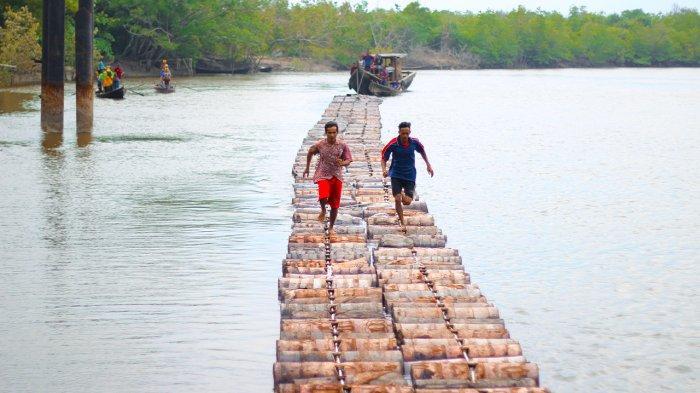 Tradisi Lari di Atas Tual Sagu di Meranti Ditargetkan Berlangsung Oktober