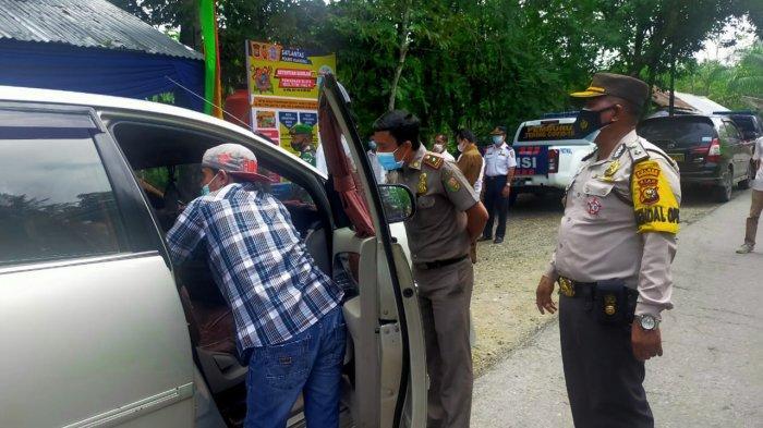 Pos Larangan Mudik Perbatasan Riau - Sumbar di Kuansing Sudah Diaktifkan