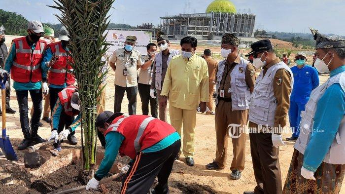 Ratusan Pohon Kurma Bakal Ditanam di Areal Islamic Centre Pekanbaru