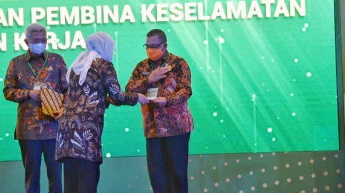 Riau Raih Pengharagaan K3 2021 dari Kementrian Ketenagakerjaan RI
