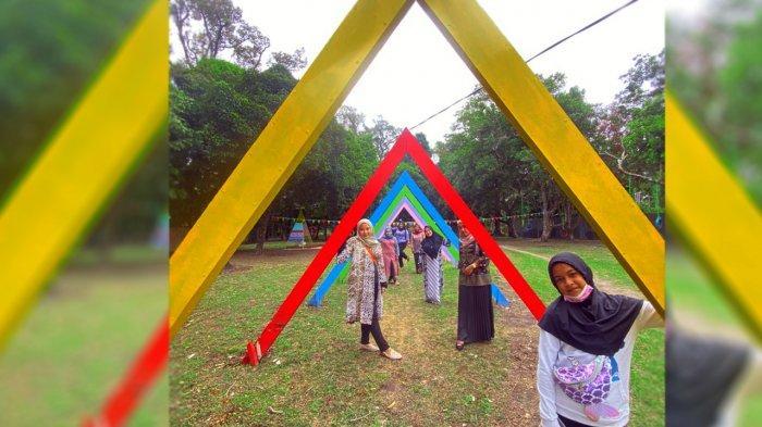 Siti Mutiara Pertiwi Sulap Kebun Jadi Taman Rekreasi di Desa Kelapapati Bengkalis