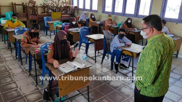 Sekolah Tatap Muka di Pekanbaru Kembali Dilakukan