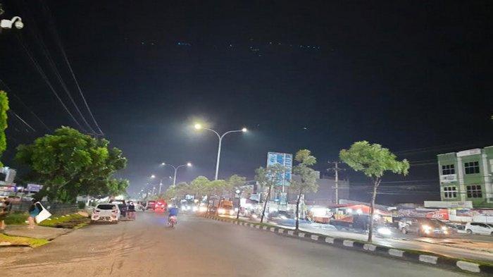 Malam Takbir di Pekanbaru, Sejumlah Jalan Protokol Lengang