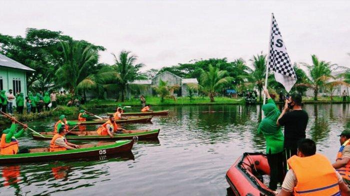 Kodim 0314/Inhil Sulap Lahan Kosong Jadi Taman Wira Bima Edu Park