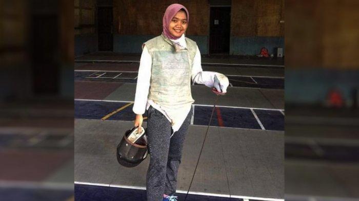 Ayu Pani, Atlet Anggar Cantik dari Siak Riau