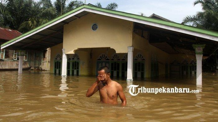 Daftar Daerah di Riau yang Berpotensi Banjir dan Tanah Lonsor