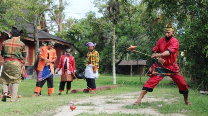 Gasing, Permainan Rakyat di Meranti Riau yang Masih Eksis