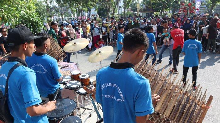Perkusi Karang Taruna Perwira Desa Petapahan Jaya Kampar Provinsi Riau