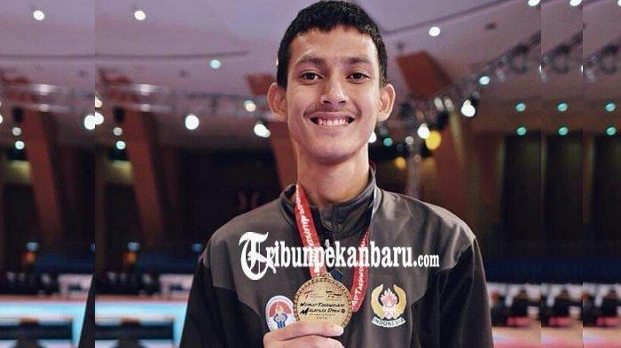 Ibrahim Zarman, Atlet Taekwondo Nasional Asal Riau