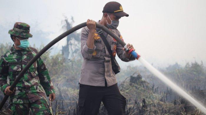 Agustus Masuki Musim Kemarau, Wakapolri Ingatkan Riau Waspada Karghutla