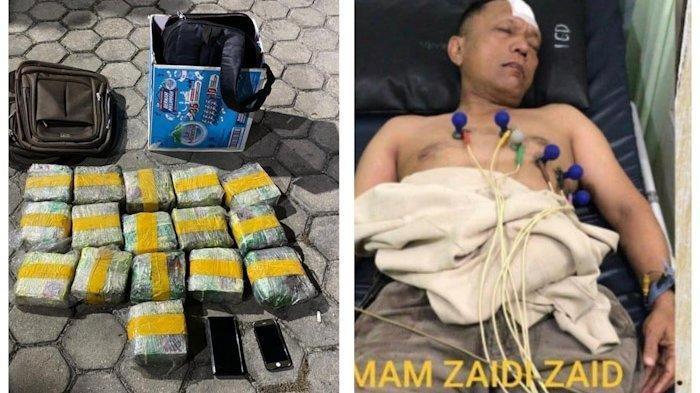 Ingat Polisi di Pekanbaru yang Bawa 16 Kg Sabu, Ia Divonis Penjara Seumur Hidup