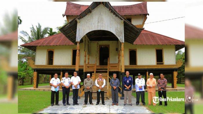 Melihat Istana Rokan di Kabupaten Rokan Hulu Riau