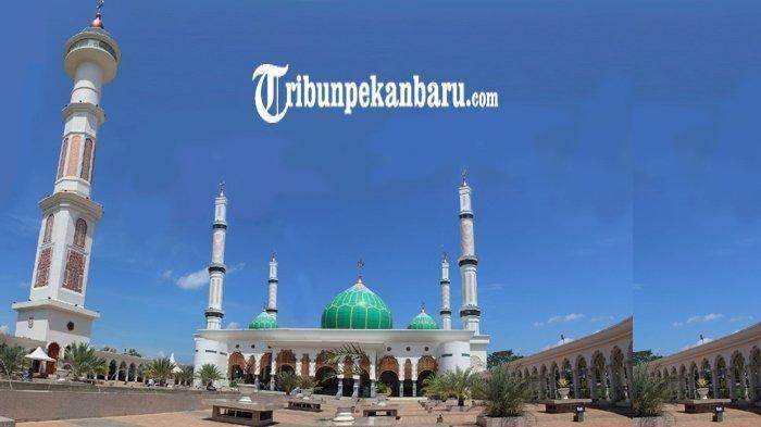Masjid Agung Islamic Center Rokan Hulu atau Rohul