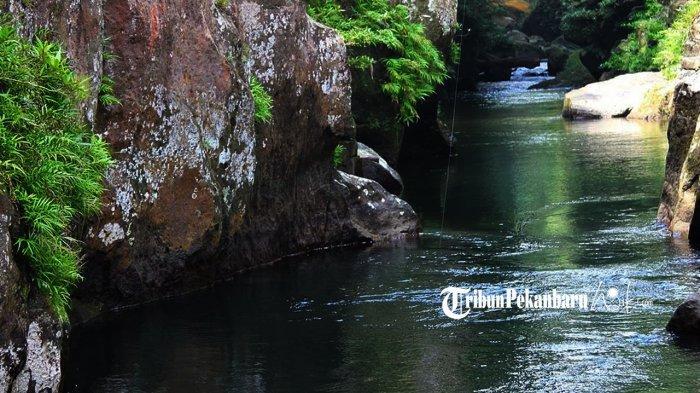 Nikati Keindahan Alam di Wisata Batu Gajah Rohul