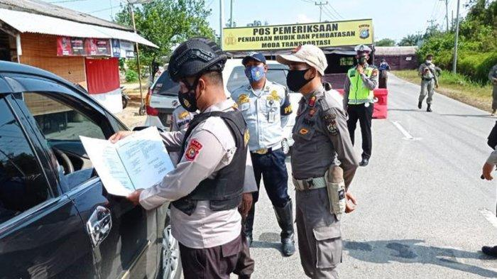 Tiga Hari Larangan Mudik di Riau, 1.215 Kendaraan Disuruh Putar Balik