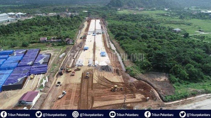 Pembebasan Lahan Tol Pekanbaru - Bangkinang Tinggal 10 Kilometer Lagi
