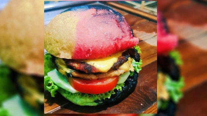Makan Unik di Pekanbaru, Bunglon Burger