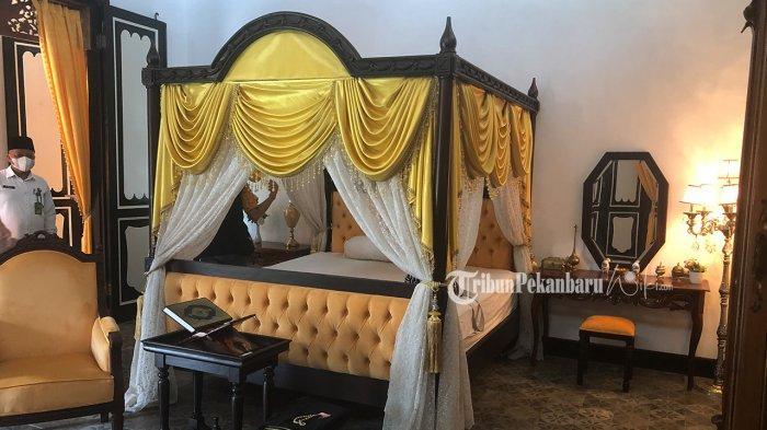 Selesai Dipugar, Istana Peraduan Sultan Syarif Kasim II Akan Dibuka Untuk Umum