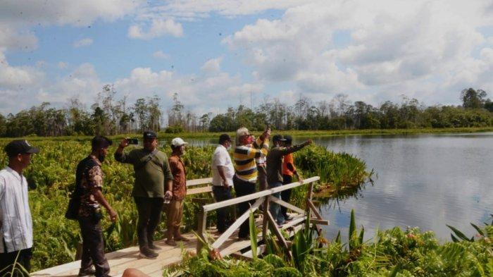 Tasik Anak Penyagun, Potensi Wisata Baru di Kepulauan Meranti Riau