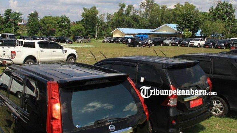 12.694 Unit Kendaraan Dinas di Riau Tunggak Pajak, Paling Banyak di Pekanbaru