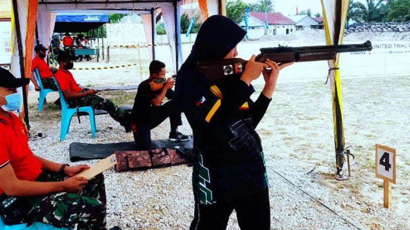 Ikuti Jejak Ibu, Alissa Zivana Putri Jadi Atlet Menembak