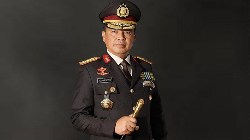 Pelaksanaan HUT Bhayangkara Ke-75 di Riau