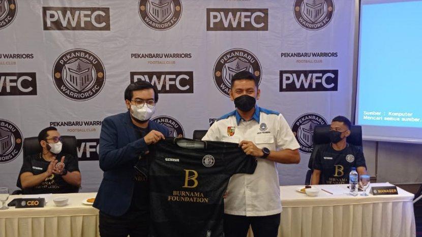 Launching Tim Pekanbaru Warrior FC Liga 3