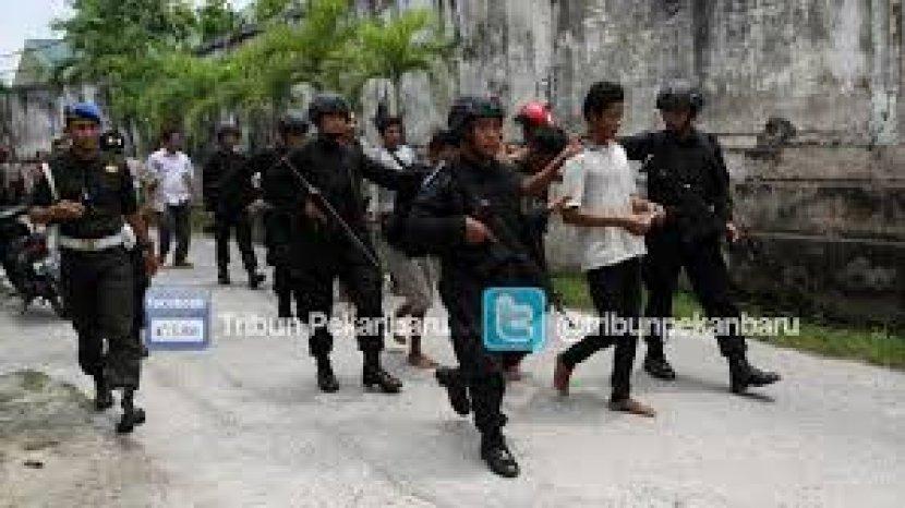 Terkenal dengan Sebutan Kampung Narkoba, Polda Riau Pasang 16 CCTV di Kampung Dalam Pekanbaru