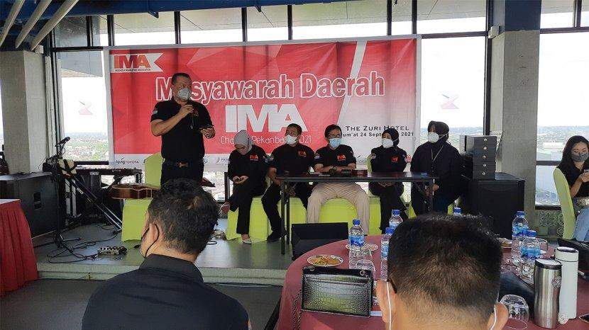 Peng Suyoto Dipercaya Kembali Pimpin IMA Chapter Pekanbaru