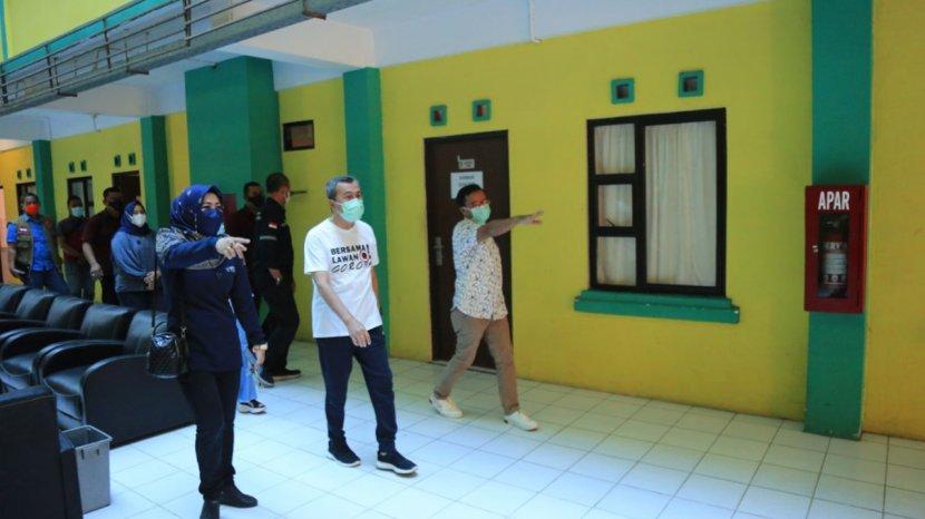 55 Pasien Covid-19 Jalani Isolasi Mandiri di Asrama Haji Riau