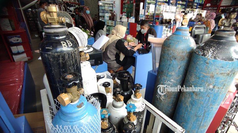 Riau Miliki Stok 240 Ton Oksigen Gratis untuk Pasien Covid-19, Segera Didistribusikan