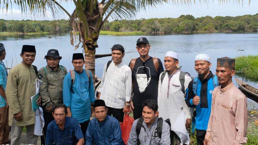 Petualangan Pedalaman UAS Berlanjut ke Bagan Benio, Bangun Madrasah Tsanawiyah
