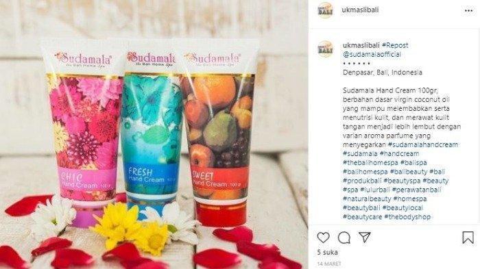 Ilustrasi produk Bali home spa.