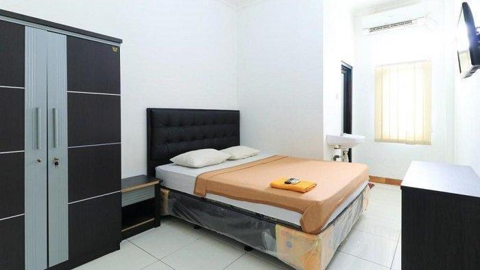 Ilustrasi fasilitas kamar hotel.