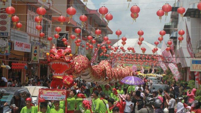 Festival Cap Go Meh di Pontianak
