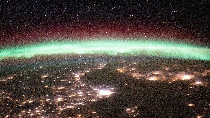 Menakjubkan! Seperti ini Potret Aurora yang Berhasil Astronout Tangkap dari Luar Angkasa