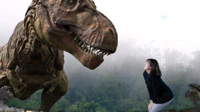 Seru! Bisa Beri Makan Dinosaurus di Bigdino Feeding Dinosaurs Bandung