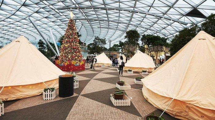 Changi Airport Berikan Fasilitas Glamping Rp 3,8 Juta per Malam