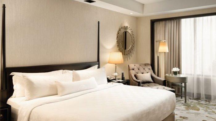 Ilustrasi saat berada di kamar hotel.