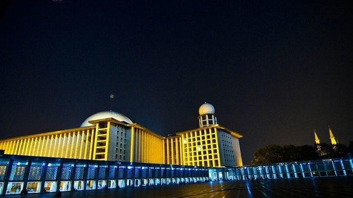 Ini Dia Tampilan Baru Masjid Istiqlal Jakarta, Dilengkapi 3000 Lampu yang Berteknologi Canggih