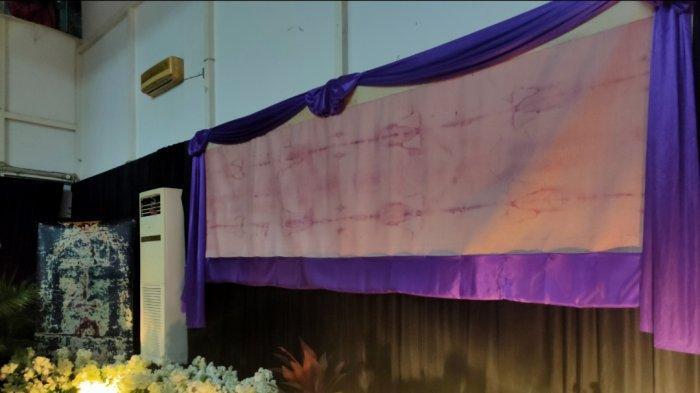 Setelah 20 Tahun, Pameran Kain Kafan Yesus Kembali Digelar