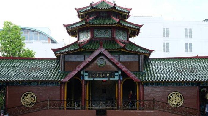 Menarik dan Unik, Berikut 5 Masjid Bercorak Tionghoa di Indonesia