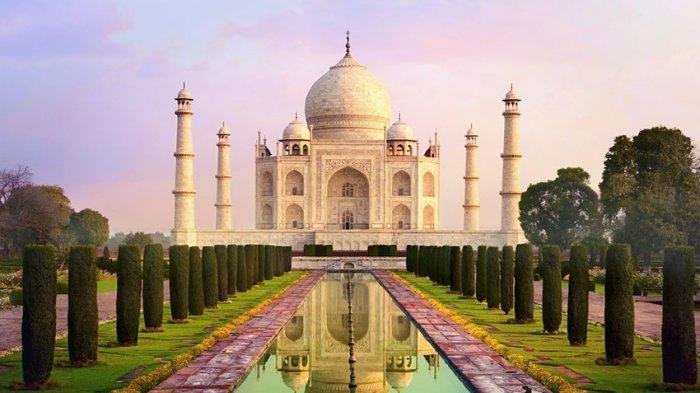 Di Tengah Pandemi, India Tambah Kuota ke Taj Mahal Menjadi 15 Ribu Kunjungan