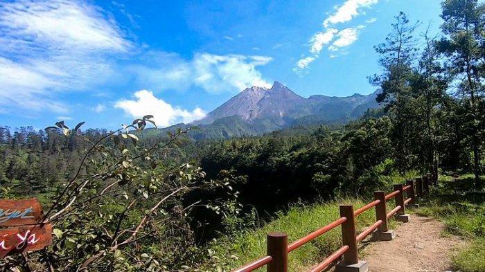 Spot panorama di wisata Deles Indah, Klaten, Rabu (16/6/2021).
