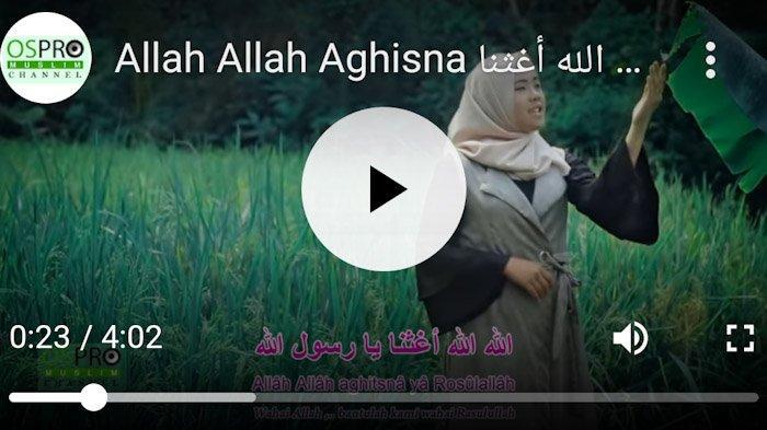 Lirik dan Chord Lagu 'Allah Allah Aghisna' by Nazwa Maulidia, Sudah Ditonton 75 Juta Kali
