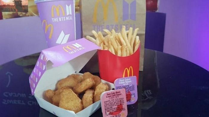 CARA Pesan BTS Meal di McDonald's Indonesia, Ini Daftar Harganya
