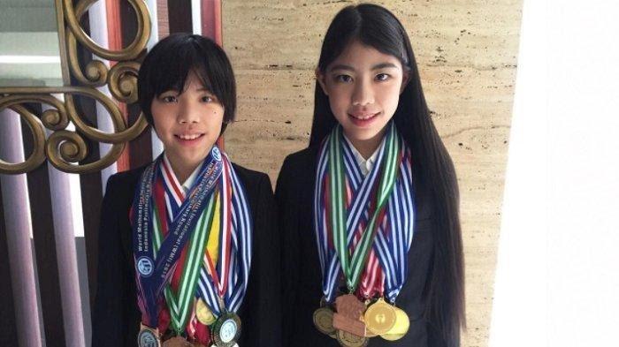 Pemenang Olympiade Matematika Internasional Devon Kei & Mischka Aoki, Raih 12 Medali Olympiade