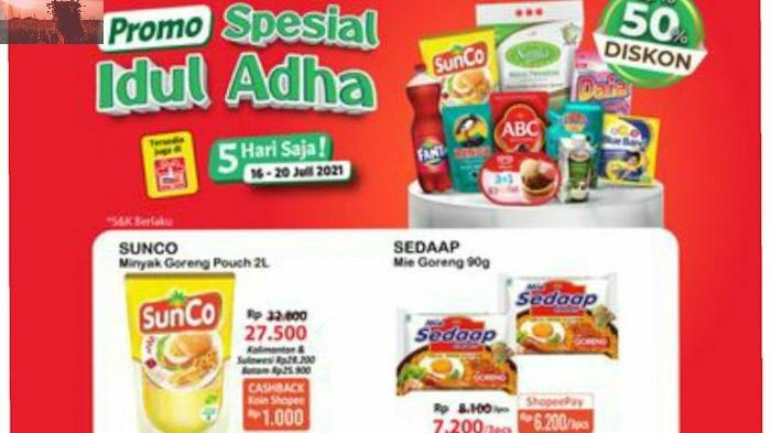 Serbu Alfamart, Promo Spesial Idul Adha 2021 Berlaku Hanya 5 Hari